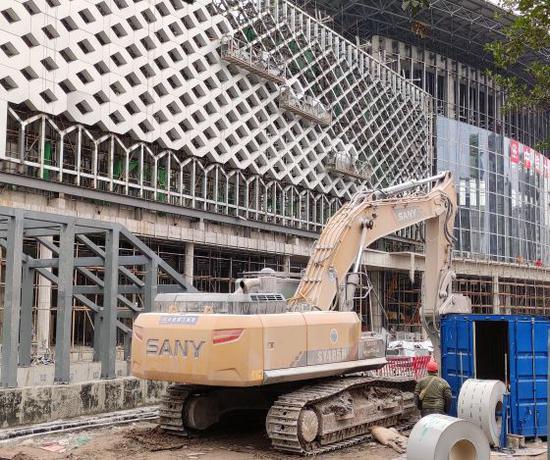 打探重慶北站南北廣場即將貫通 已進入最后沖刺階段
