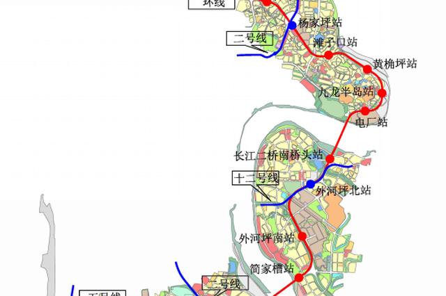 轨道交通5A线初设站点公布 快来看看路过你家了吗