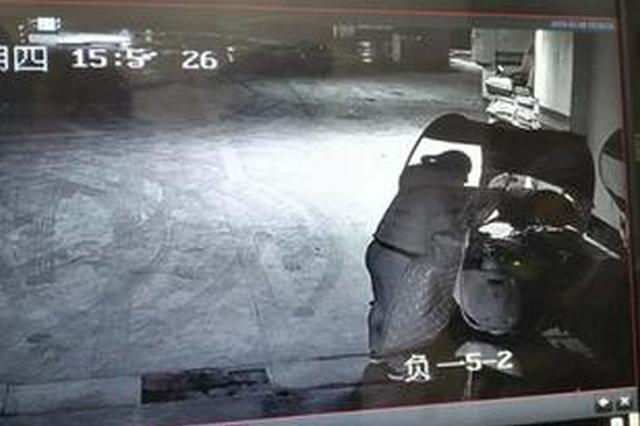 女子专偷业主电瓶车电瓶 作案前先破坏车库摄像头
