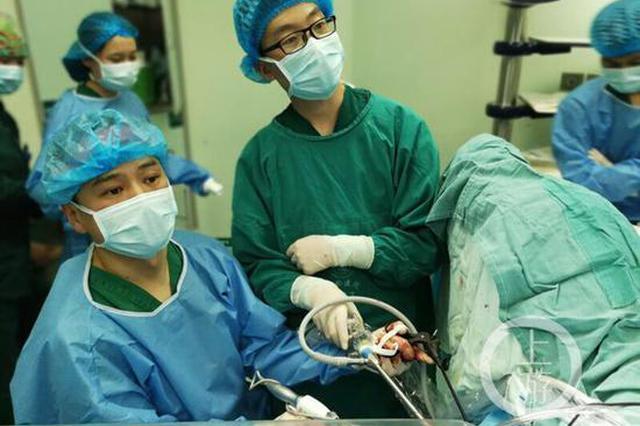 恶性肿瘤位置太尴尬 医生为他成功手术保住了器官