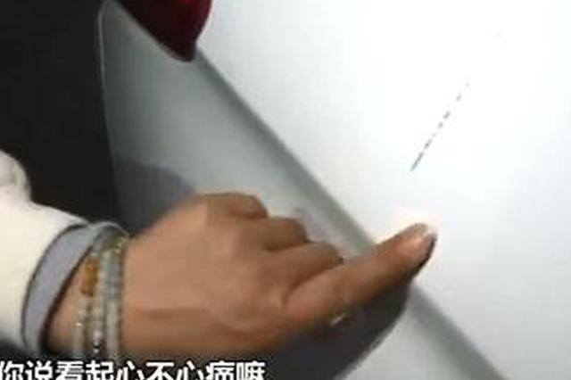 """重庆女子的新车被陌生男人拳打脚踢还""""破了相"""""""
