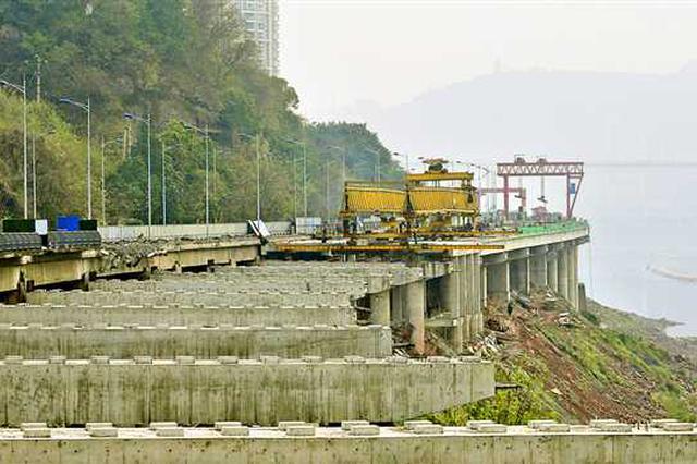 北滨路拓宽工程一期年内建成通车 形成双向六车道