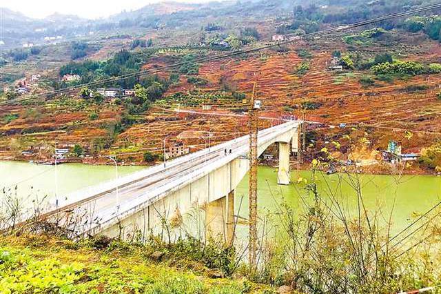 这座桥通了 云阳3个村农民再不担心脐橙烂在家里