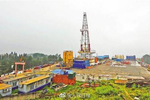 中国首个大型页岩气田在涪陵建成 相当于千万吨级油田