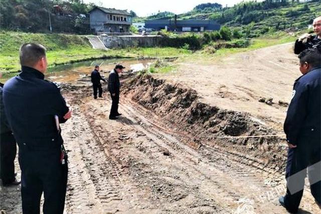 非法采砂乱挖河堤 重庆北碚一男子遭警方刑事拘留
