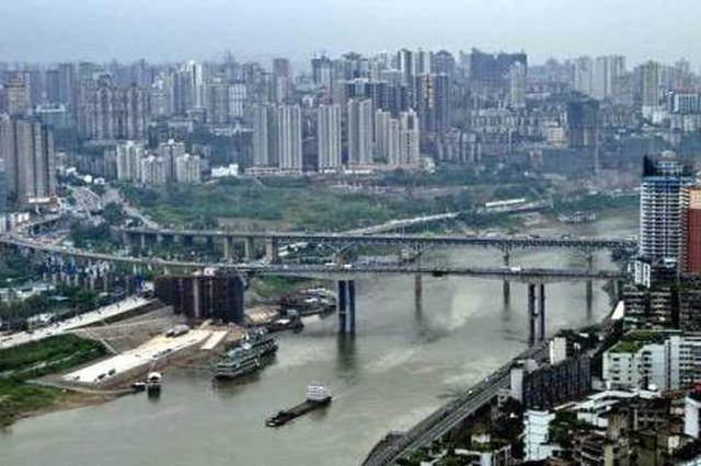 捷径!渝澳大桥至两路口分流道年底建成 全长919米