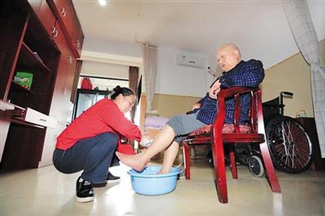 """重庆养老""""国际范"""" 煮碗米饭、洗脸洗脚都有标准"""