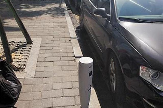 """重庆投用79个路内停车""""视频桩"""" 将自动计时计费"""