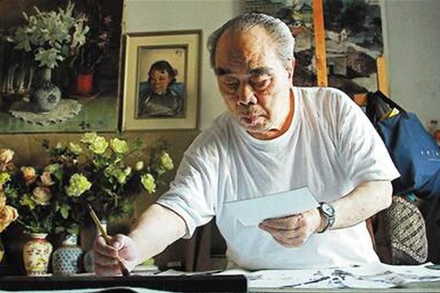 重庆96岁老人办大型个展 将记忆全都留在画里(图)