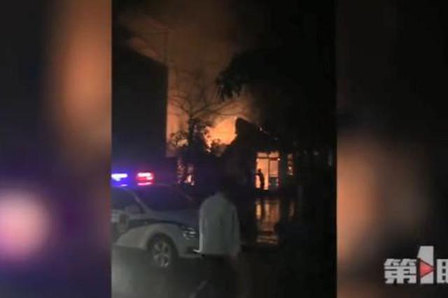 今凌晨重庆一民居失火 两人不幸遇难