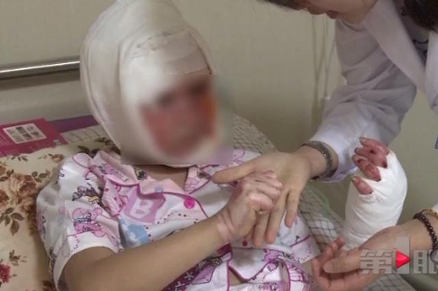 10岁女孩为家人做早餐引发大火 一家三口被烧伤