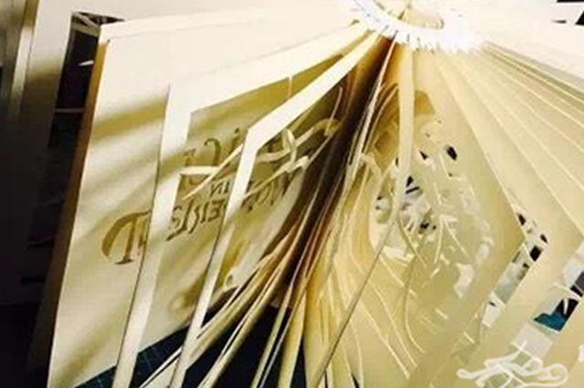 看纸如何变得幻化神奇 重大理工男做起光影纸雕