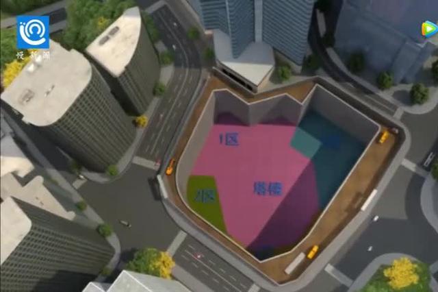 431米平视重庆南山主峰!打探解放碑未来最高建筑