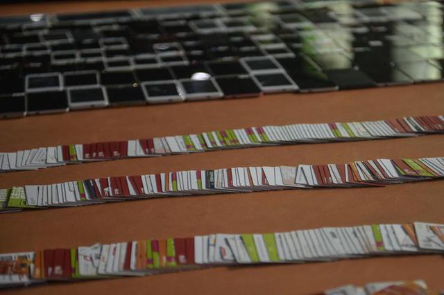 重庆警方摧毁制假信用卡诈骗团伙 抓获58名嫌疑人