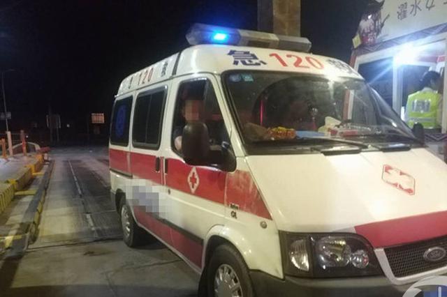 为了偷逃高速通行费 重庆一救护车做假证8座改7座
