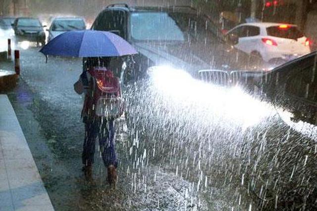 请注意防范!重庆市气象台连发强对流天气警报