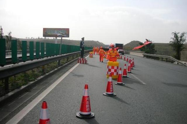 即日至6月15日重庆这段高速施工 回城货车需绕行