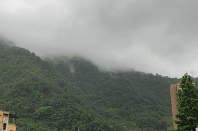 这两天山城雨有点大 暴雨、大暴雨组团已在路上