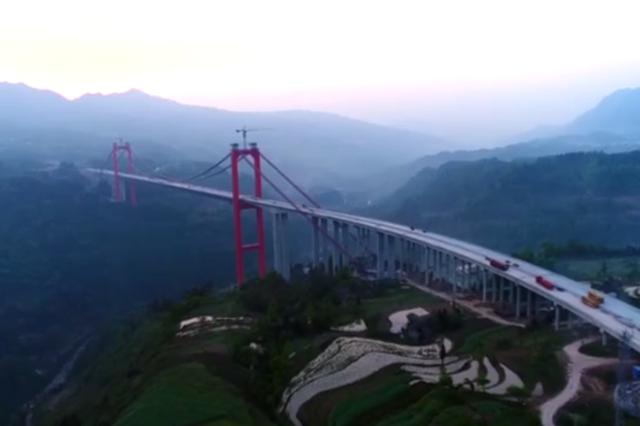 重庆又添一条出省通道 江习高速公路下月底通车