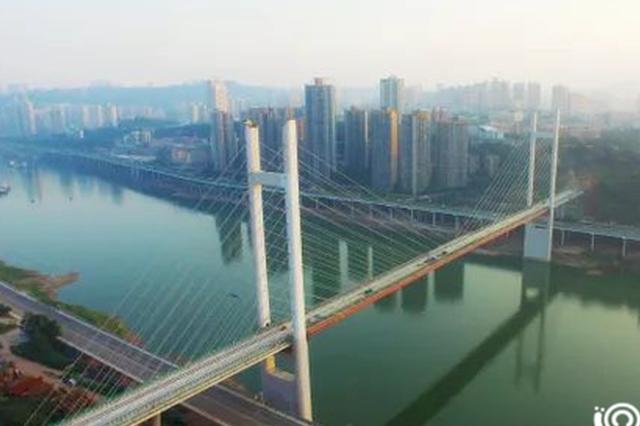 轨道环线高家花园大桥铺轨完工 年内竣工投用