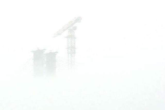 雾锁山城 如梦如幻