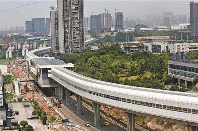 轨道交通四号线一期工程接近尾声,年内开通试运营。