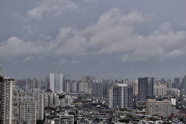 """今日重庆主城得见阳光 那是雨""""歇了口气"""""""