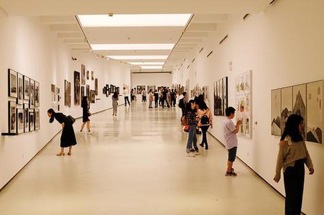 川美2018届本科毕业展开幕 展出上万件作品