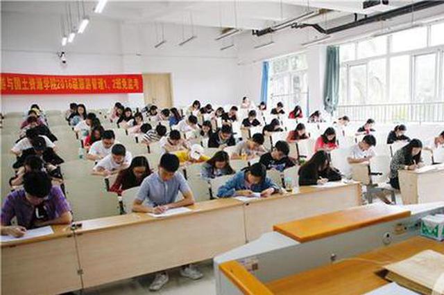 重庆这所大学的考室无监考老师 18年来无一人作弊