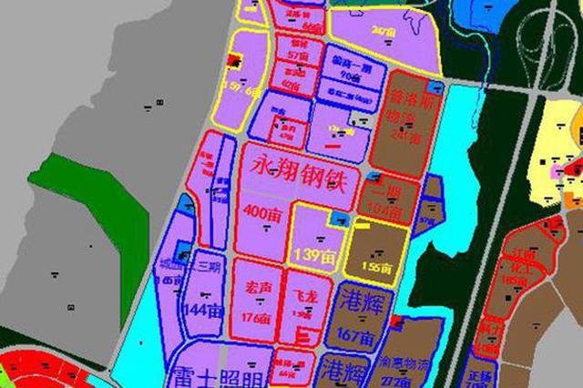 重庆经开区东港片区 规划道路16条3条已开建