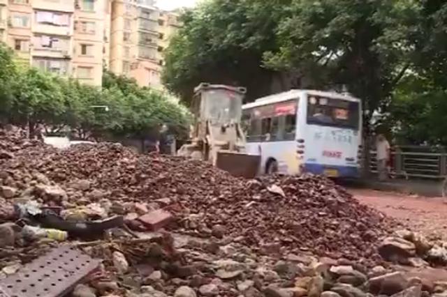 巫山昨晚的暴雨有多大?光淤泥就有500吨