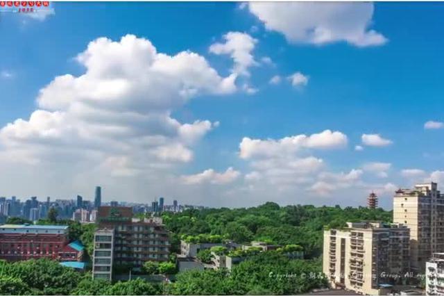 重庆城市风光延时摄影《山水重庆》 爱上这座城