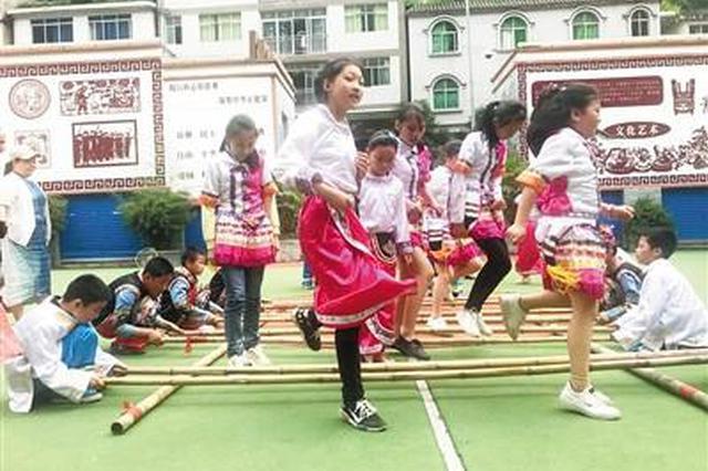 厉害了!重庆这所小学居然有三项非遗(图)