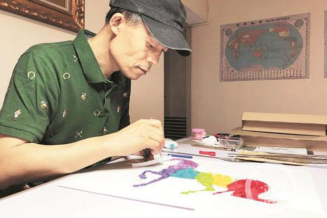 重庆癌症晚期患者坚持创作 作品被三峡博物馆收藏