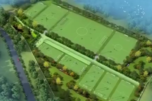 重庆最大单体足球培训基地开建 将定期免费开放
