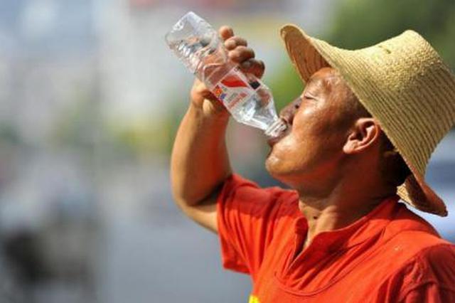 市气象台发布高温红色预警 多地最高气温达40℃以上