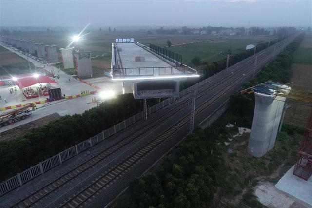 一横线跨御临河大桥合龙 去两江影视城将添一新通道