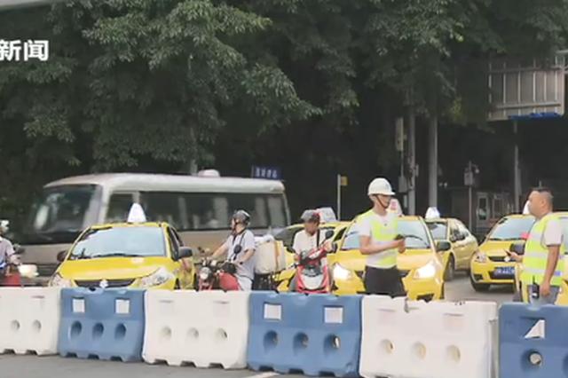 牛角沱嘉陵江大桥开放上游幅车道通行 禁行仍未解除