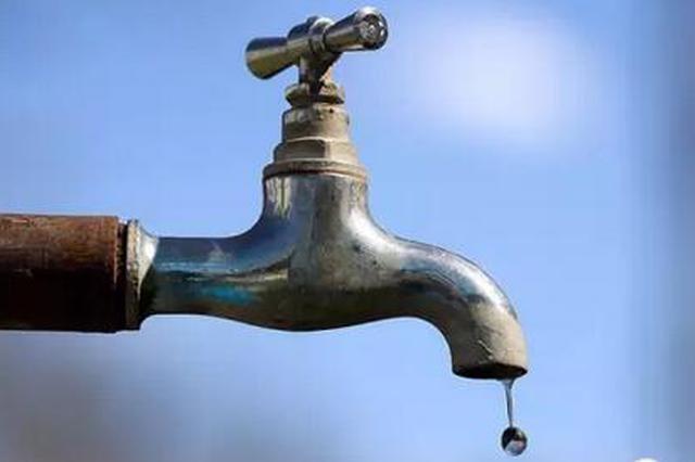 因工程施工 渝北区部分区域23日将停水12小时