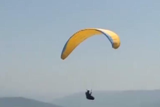 飞翔!全市最大滑翔伞基地在云阳建成投用