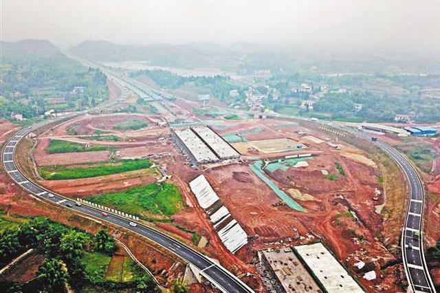 潼荣高速建设快速推进 有望明年底建成通车