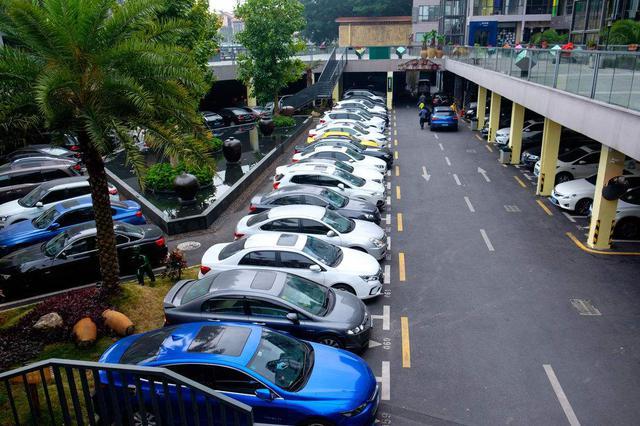 渝中区上半年建成9个停车场 新增停车位约1500个