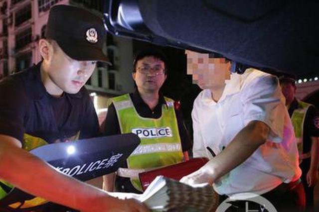九龙坡出动上千警力 突击清查娱乐洗浴场所