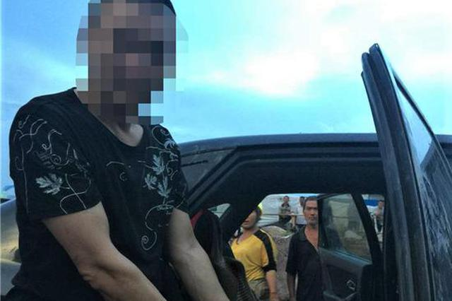 男子行窃被发现弃车逃跑 假装回现场取车被抓