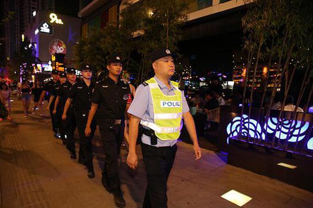 江北九街创警企联巡队 治安警情一年下降6.67%