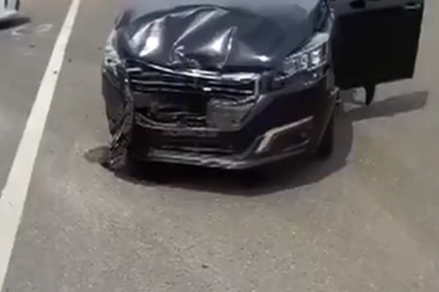 新车交给朋友无证驾驶引发事故 男子被罚1千元