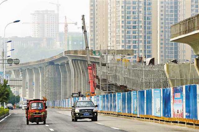 轨道交通5号线跳磴至江津段预计2020年建成