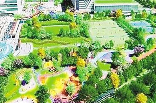 城市边角地派上大用场 沙区建8个社区体育文化公园