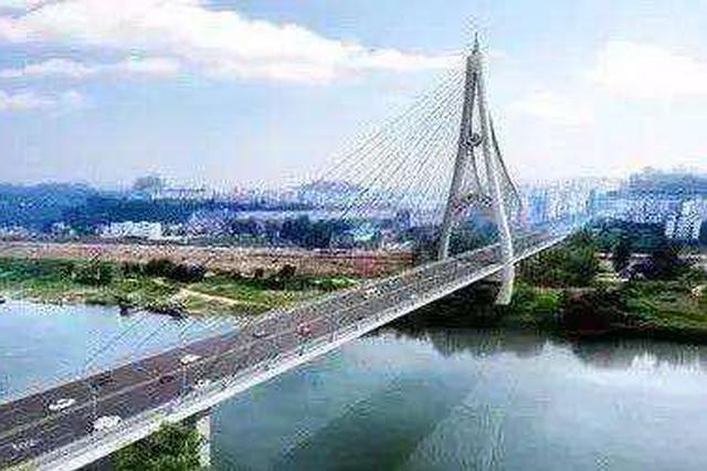 潼南:涪江大桥改造工程将于9月5日完成主桥合龙