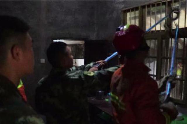 重庆:雨天惊魂!村民家窗子竟有大蛇盘踞